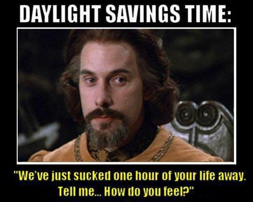 Daylight Savings Time meme