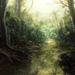 Speedpaint__Jungle_River_by_I_NetGraFX